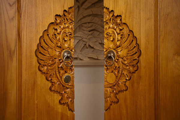 Traditional Crafted Door