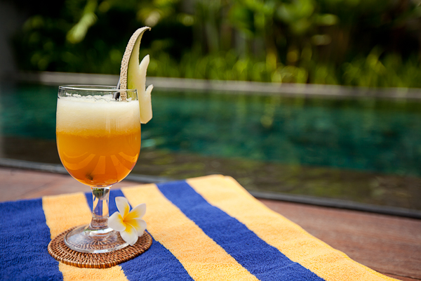 Fresh Drink by the Pool